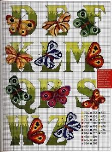 алфавит бабочки 2
