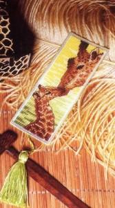 Закладка Жирафы