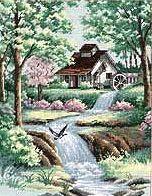 домик у воды