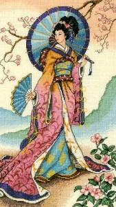 колоритная японка