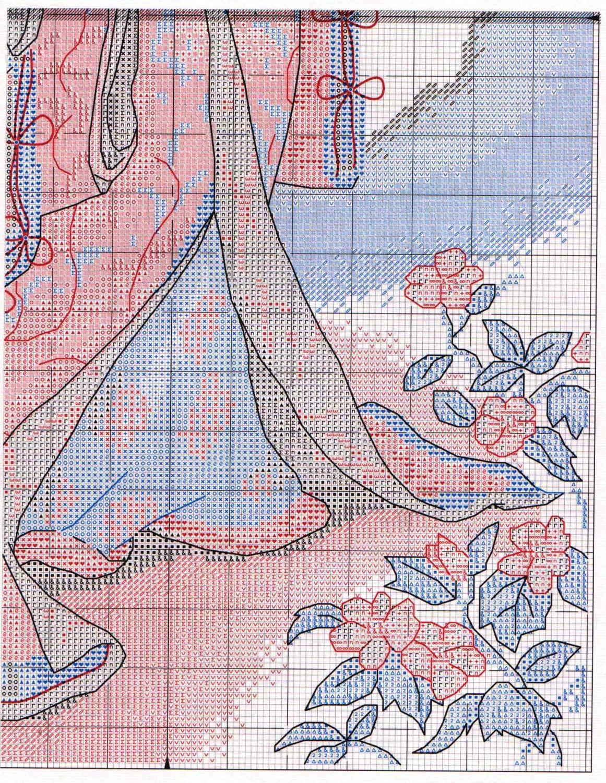 Вышивка дименшенс сакура 31