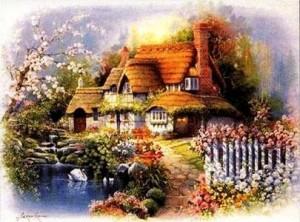 Дом с лебедями