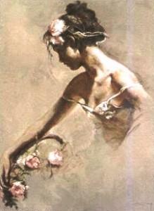 Нежная балерина