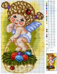 Пасхальный ангел схема