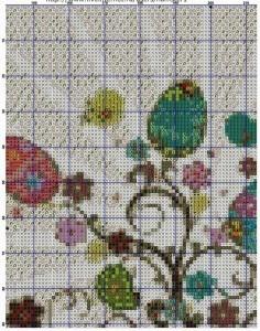 пасхальные деревья пэчворк2