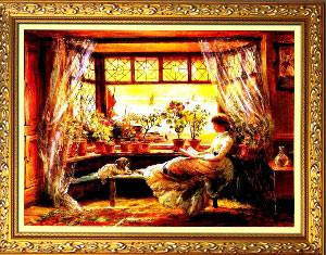 Чтение у окна